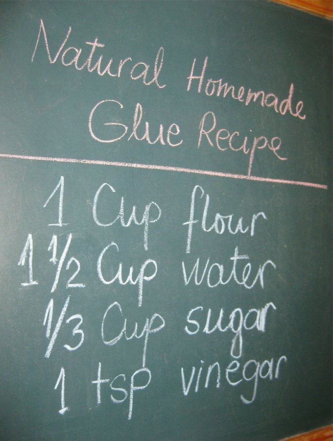 natural homemade glue recipe