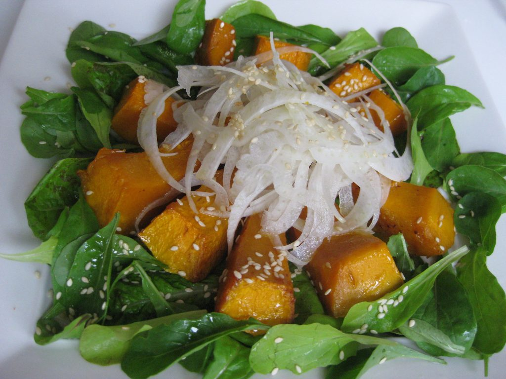 Pumpkin and Fennel Salad